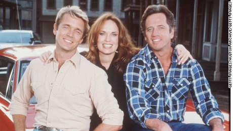 "1997 John Schneider, Catherine Bach, Tom Wopat from the ""Dukes of Hazzard Reunion"""