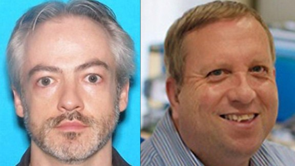 Wyndham Lathem (left) and Andrew Warren (right) are wanted in connection with a murder on June 27.