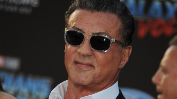 Actor, writer and director Sylvester Stallone