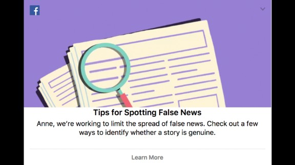 In a bid to curb the spread of false news ahead of the Kenyan election, Facebook are activating fake news notifications on newsfeeds to educate voters on how to spot hoax reports.