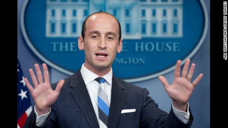Trump takes immigration cues from 'Pres. Stephen Miller'
