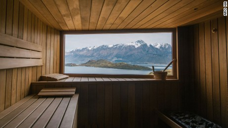 Sauna with a view: Best hot rooms for lazing and gazing