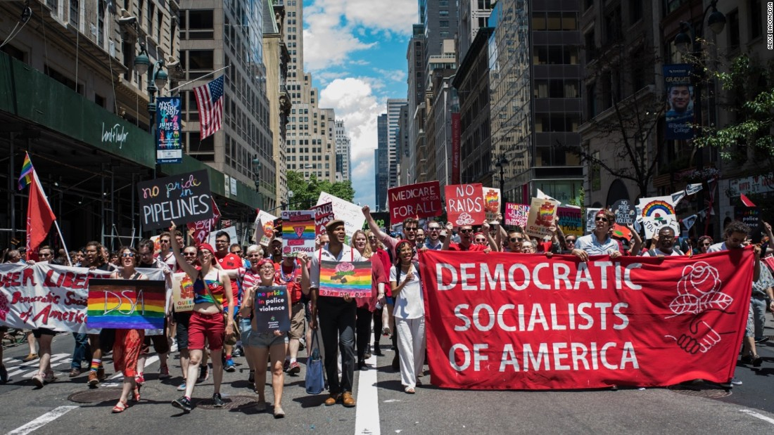 Democratic Socialists are taking themselves seriously