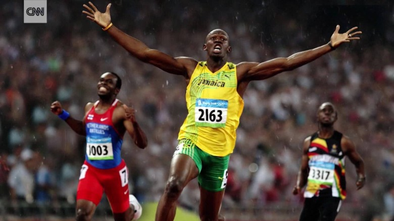World stars bid farewell to Usain Bolt