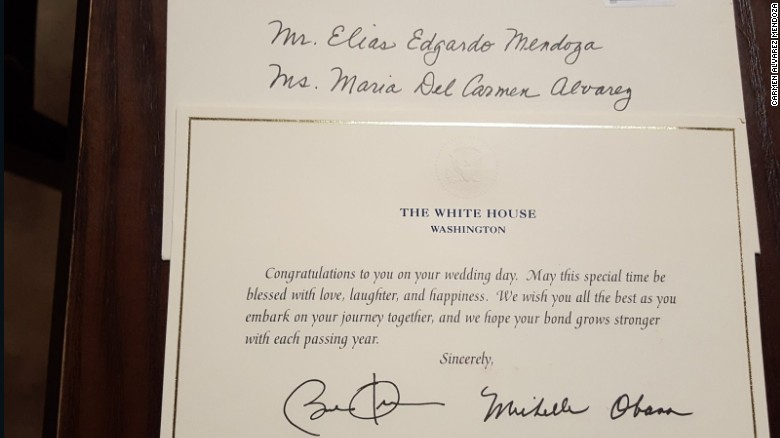 Barack obama still responds to strangers wedding invitations when carmen alvarez mendoza got married in 2014 she invited the obamas as well as oprah and ellen degeneres she told cnn she was pleasantly surprised when m4hsunfo