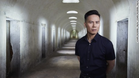 Unit photography & portraits of host BD Wong soon HLN's Something is Killing Me.  Photo by John Nowak/HLN