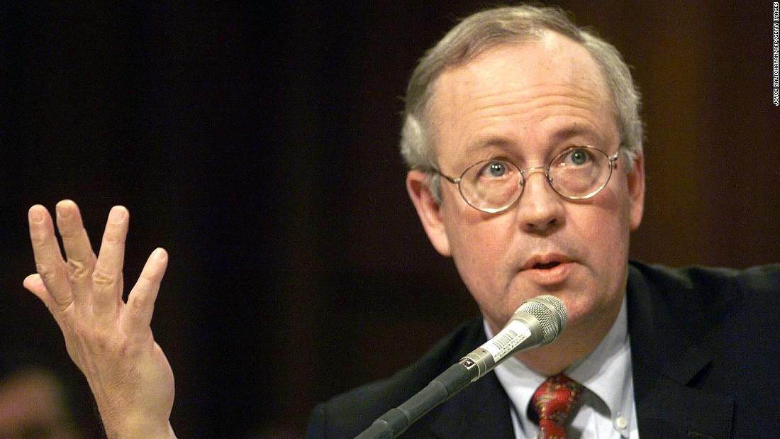 The Point Its Ken Starr vs Ken Starr on impeachment