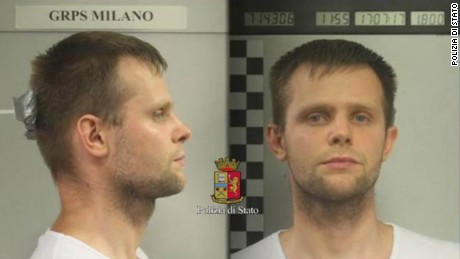 Lukasz Herba, a 30-year-old Polish national, was arrested on kidnapping charges.
