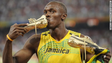Jamaica's Usain Bolt shot to fame in Merkel's first term and retired from athletics in 2017.