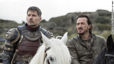 Nikolaj Coster-Waldau, Jerome Flynn in 'Game of Thrones'