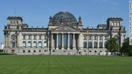 The Reichstag building is a popular tourist attraction in Berlin.