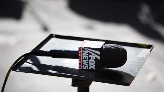 Mandatory Credit: Photo by Justin Lane/Epa/REX/Shutterstock (8135976a) A Fox News Mic is Seen Across the Street From Trump Tower in New York New York Usa on 22 November 2016 Representatives From a Number of Major Television Networks Attended an Off-the-record Meeting with President-elect Donald Trump on Monday a Meeting in Which Trump Reportedly Criticized Many of Them For Their Work During the Election United States New York Usa New York Trump Media - Nov 2016