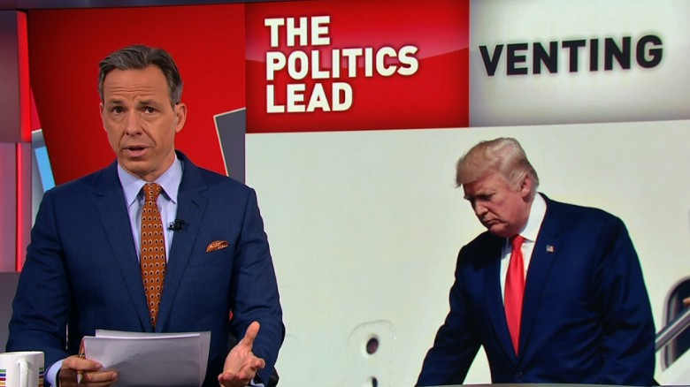 Tapper: Trump dislikes a story, calls it 'fake'
