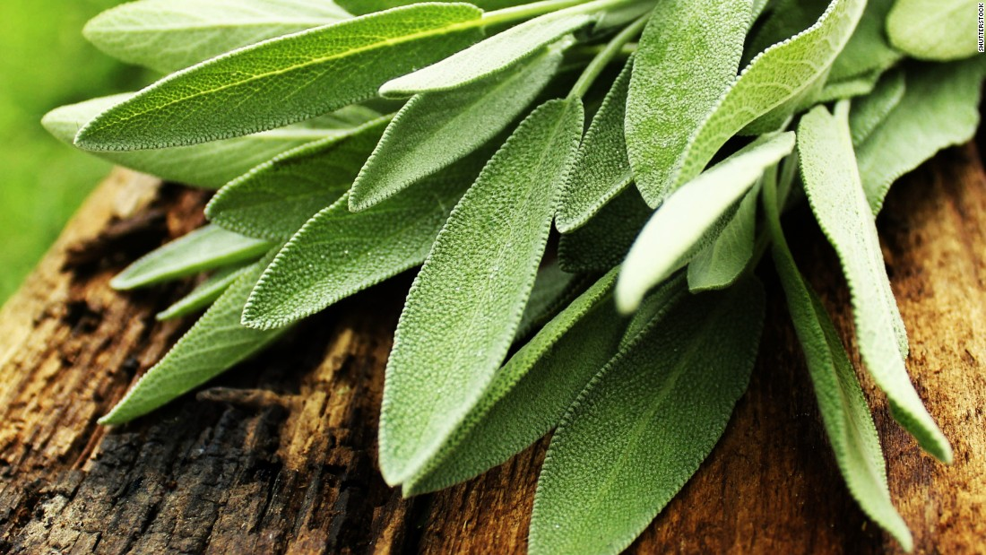 "Sage is a potent herb often used in stuffing and butters. Studies have shown that it may be helpful for memory, cholesterol and menopausal symptoms if taken by mouth. In one <a href=""https://www.ncbi.nlm.nih.gov/pubmed/11799306"" target=""_blank"">study,</a> a mixture of sage and rhubarb on cold sores was nearly as effective as the antiviral medication acyclovir.<br /><br />Evidence is sparse for the use of sage for cancer, asthma and stomach pain. Use in food is considered safe, but supplements are not advised during pregnancy or if you have seizures, high or low blood pressure or a hormone-sensitive cancer such as breast or ovarian cancer."