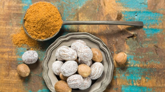 """Look beyond the sweet taste of this powerful spice: Nutmeg, used unwisely, can <a href=""""http://www.tandfonline.com/doi/abs/10.3109/15563657108990142"""" target=""""_blank"""" target=""""_blank"""">poison</a> you. It's been used over the centuries as a psychedelic, to stimulate menstruation and induce abortions, and to fight infections, including the Black Plague. Its popularity as a poor man's hallucinogen -- it takes only two tablespoons to have effects -- became legend when <a href=""""http://nationalhumanitiescenter.org/ows/seminars/aahistory/MalcolmX.pdf"""" target=""""_blank"""" target=""""_blank"""">Malcolm X </a>wrote about using it in prison. <br /><br /><a href=""""https://link.springer.com/article/10.1007/s13181-013-0379-7#page-1"""" target=""""_blank"""" target=""""_blank"""">Poison control centers</a> see <a href=""""http://www.tandfonline.com/doi/abs/10.3109/15563650.2011.561210"""" target=""""_blank"""" target=""""_blank"""">teenagers</a> get into trouble trying it out; in addition to an uncomfortable high, they suffer abdominal pain, nausea, vomiting, an unsteady heart rate and and severe confusion. Dr. Leon Gussow wrote<a href=""""http://journals.lww.com/em-news/Fulltext/2011/05000/Toxicology_Rounds__Kitchen_Toxicology__Nutmeg__the.7.aspx?WT.mc_id=EMxALLx20100222xxFRIEND"""" target=""""_blank"""" target=""""_blank""""> in Emergency Medicine News</a> that """"Many individuals who take nutmeg once as an available, inexpensive high vow never to do it again."""""""