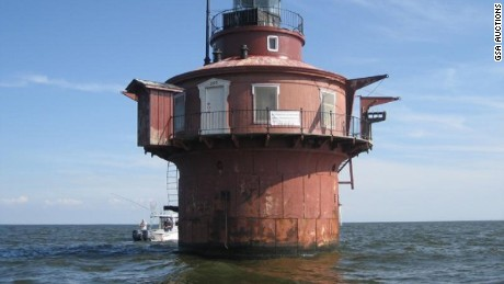 The Craighill Channel Lower Range Front Light Station had no bids on Tuesday, August 8.