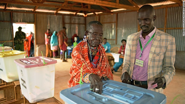 Kenyan court: Elections 'null and void'