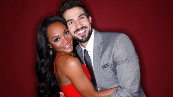 "Rachel Lindsay was cast as the first black ""Bachelorette"" during season 13 and her suitors were diverse in both age and race. She selected Bryan Abasolo in August 2017 and the couple are engaged."