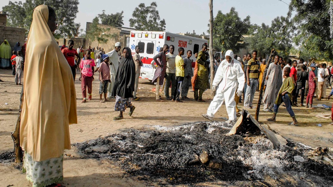Image result for Boko Haram increasing use of women, children as bombers - UN