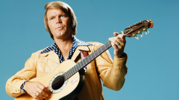 Glen Campbell, the upbeat guitarist from Delight, Arkansas, whose smooth vocals and down-home manner made him a mainstay of music and television for decades, died August 8 after a lengthy battle with Alzheimer's disease, his family announced on Facebook. The six-time Grammy Award winner was 81.