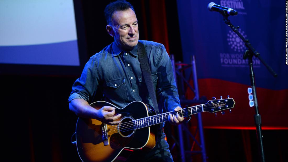 Bruce Springsteen opens up about his battles with depression: 'I know I am not completely well'