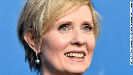 BERLIN, GERMANY - FEBRUARY 14:  Actress Cynthia Nixon attends the 'A Quiet Passion' photo call during the 66th Berlinale International Film Festival Berlin at Grand Hyatt Hotel on February 14, 2016 in Berlin, Germany.  (Photo by Pascal Le Segretain/Getty Images)