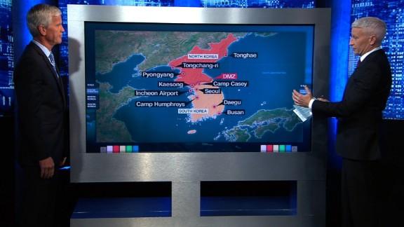 NK/ Seoul Map Board