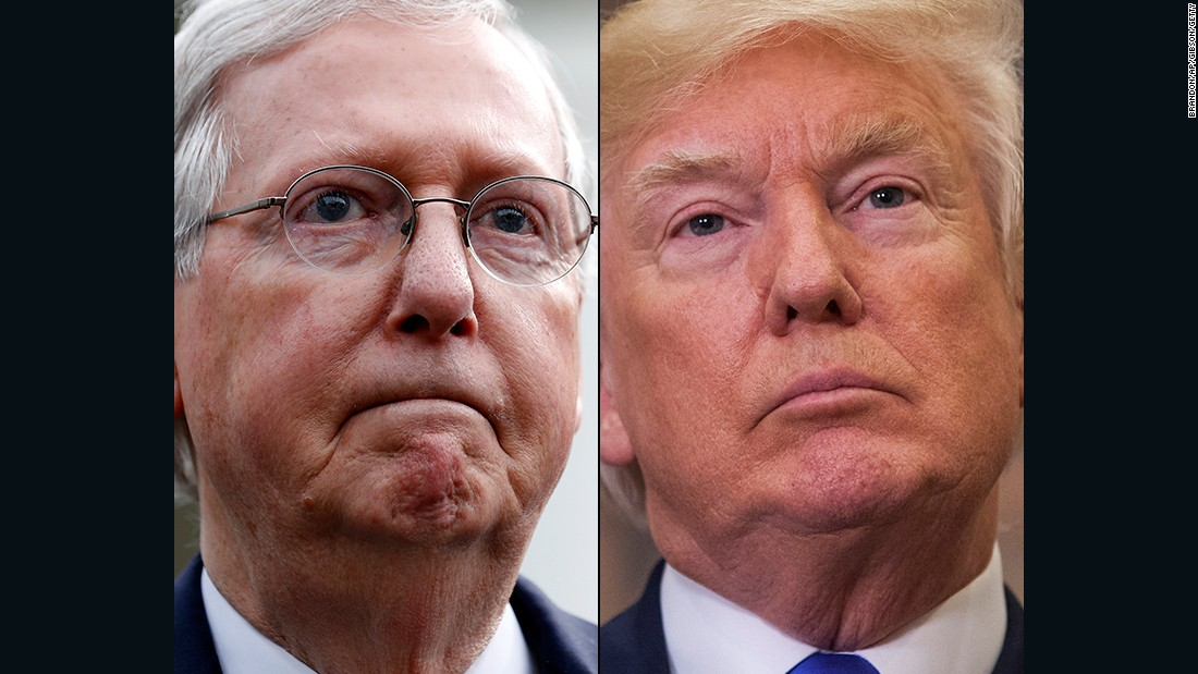 McConnell denies he told Trump his call with the Ukrainian President was perfect