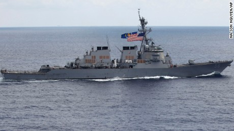 US destroyer in South China Sea called 'provocation' by Beijing