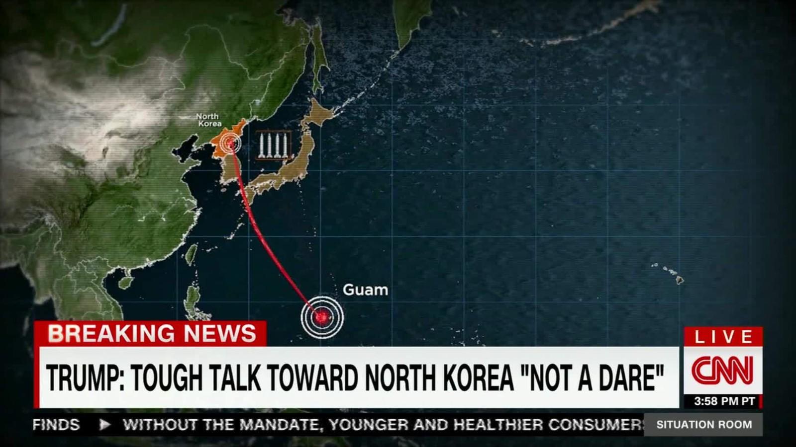 Nkorea threatens demonstration near guam cnn video gumiabroncs Gallery