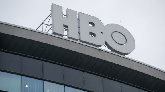 The offices of cable and satellite network HBO is seen on 6 February, 2017.