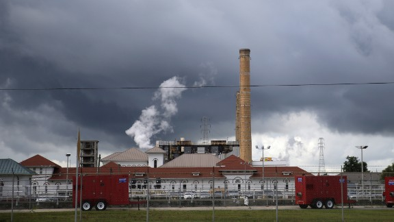 The New Orleans Sewerage & Water Board generates an unusual frequency of electricity needed to run the oldest and most powerful drainage pumps at a facility near the Mississippi River.