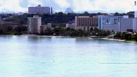 The Pacific Island of Guam