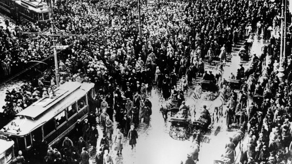 This year marks the 100th anniversary of the Russian Revolution, an event that helped shape the 20th century.  In 1917, masses gathered in Nevsky Prospekt during what became known as the February Revolution in the Russian capital Petrograd (now known as St. Petersburg).