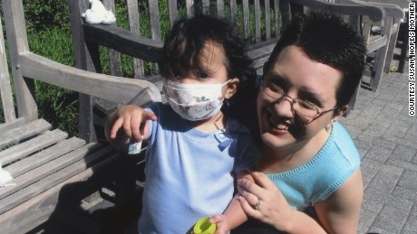 Hope's youngest daughter was treated for cystic fibrosis for years.
