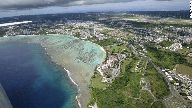 Guam in crosshairs of fiery nuclear threats