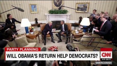 Will Obama's return help Democrats? _00023315