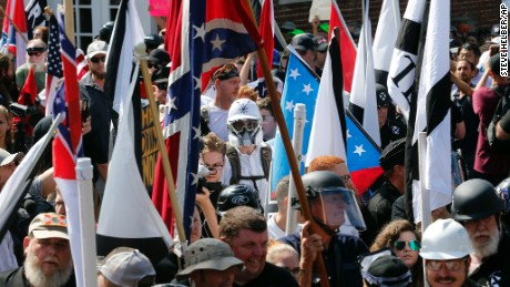 Who are the white nationalists who gather in Washington?