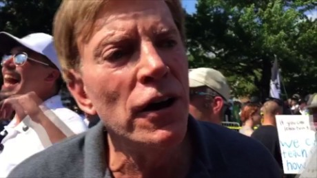 Trump's defense of 'very fine people' at white nationalist march has David Duke gushing