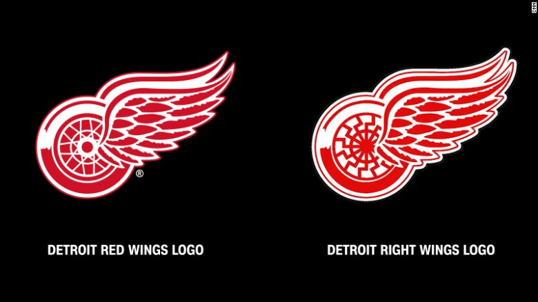 detroit red wings to white supremacist stop using our logo cnn