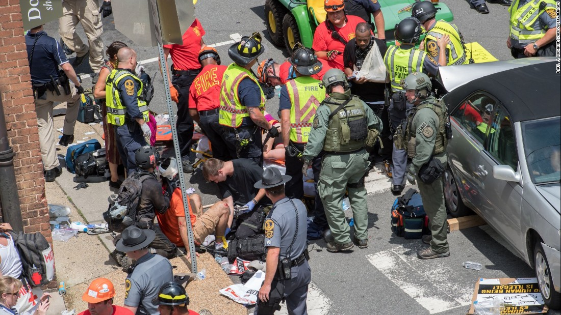 Pictures Of Car Crash Charlottesville