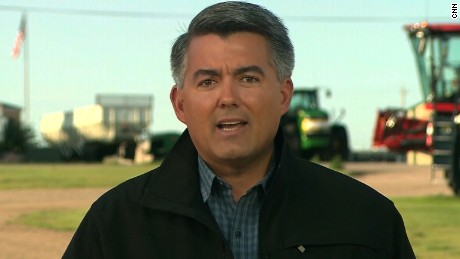 Sen. Cory Gardner, a Colorado Republican