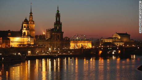 Dresden is in east Germany near the Czech Republic.