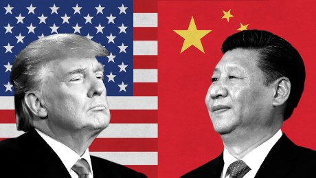 Trump threatens to cut off trade with China