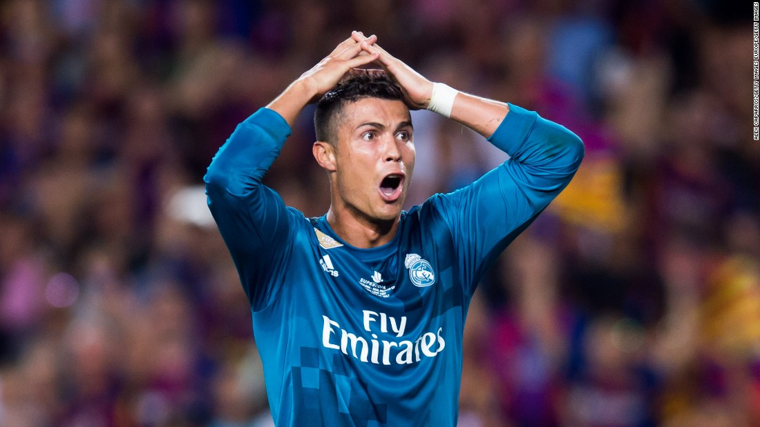 8496f731a Cristiano Ronaldo banned for five games after red card - CNN