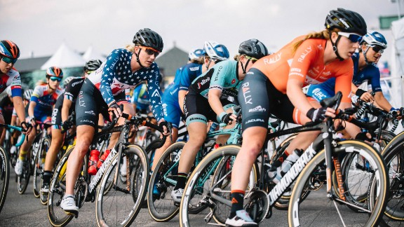 The Colorado Springs stage contained six laps of 93.5 total miles for the men and five laps of 38.36 miles for the women.