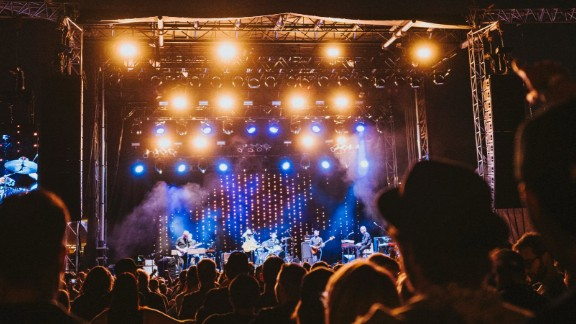 The races culminated in a three-day festival in downtown Denver with food, drink, a marketplace and a concert by 20 bands including Wilco, pictured.