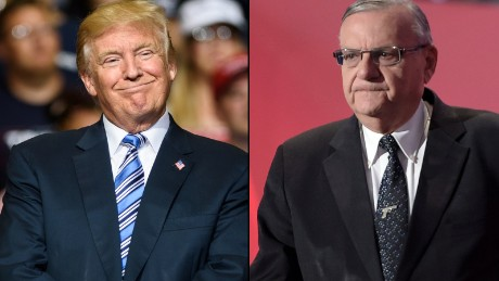 White House has paperwork ready for Joe Arpaio pardon