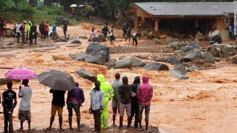 Sierra Leone mudslide