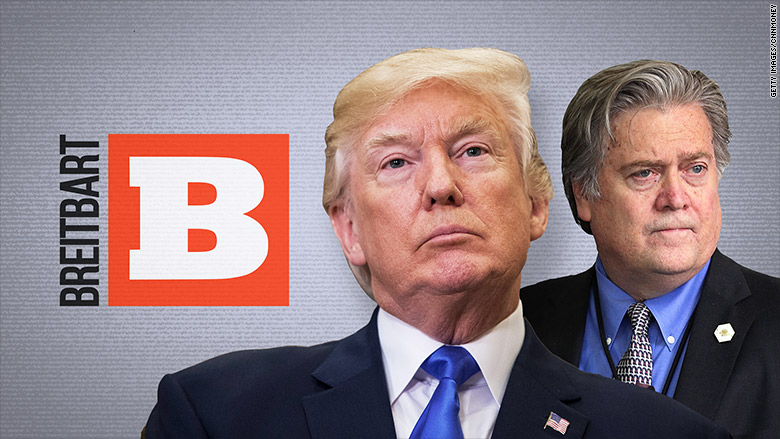 Bannon returns to Breitbart, declares war